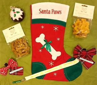 Dog Treats Chistmas Stocking