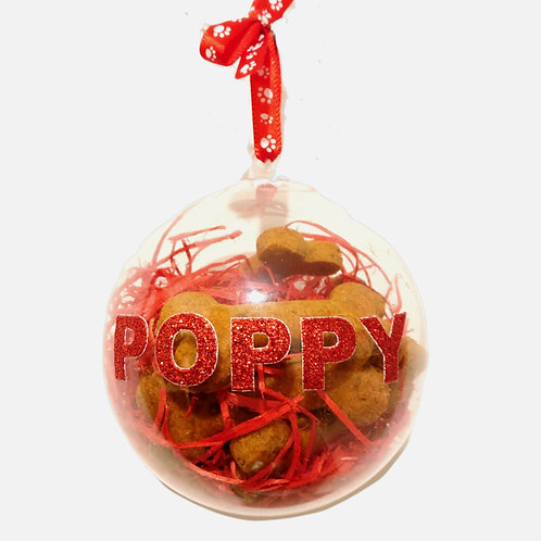 Large Personalised Bauble