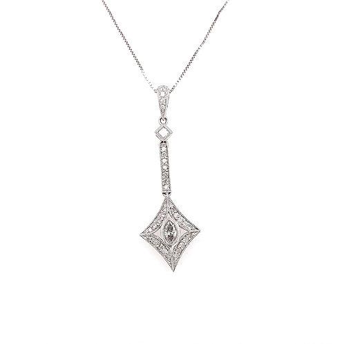 Marquis Diamond Pendant