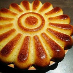 Gâteau moelleux aromatisé au citron