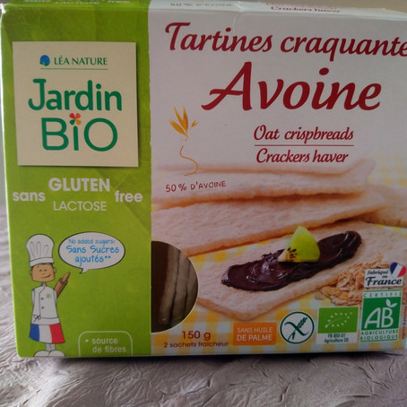 Test Tartines craquantes Jardin Bio