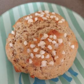 Mini-brioche à la farine de chataigne (sans oeuf)
