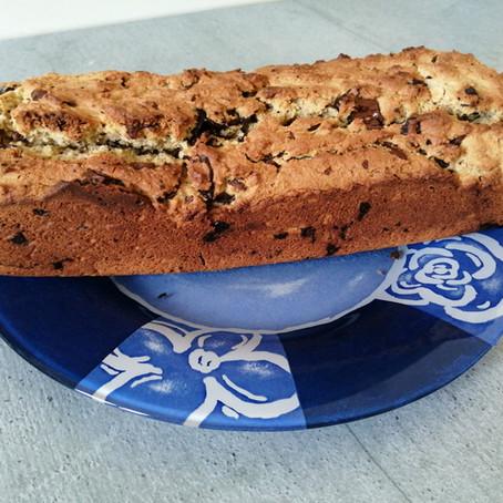 Cake citron chocolat (sans gluten et sans lactose)