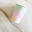 Thumbnail: Gradient Rainbow Unicorn Plate Disposable Partyware and balloons
