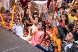 Engaging kids magic show singapore