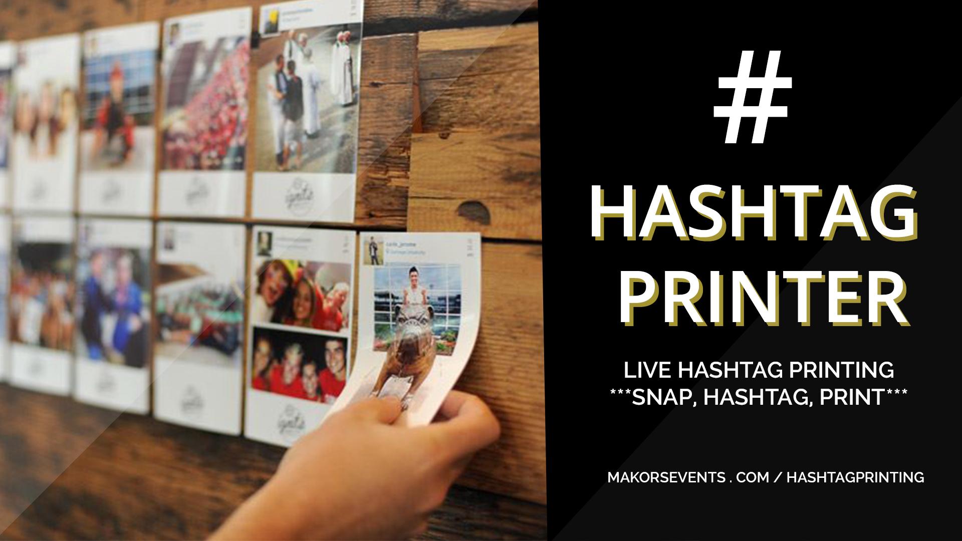 Hashtag instagram printing singapore