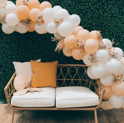 Organic Balloon Arch Deco Styling in Singapore