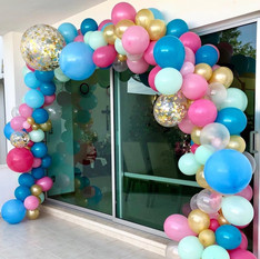 Balloon Arch Deco Styling Baby Shower