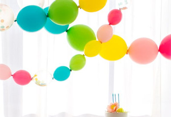 Balloon Decorations on a Budget (Kids Birthday Party)