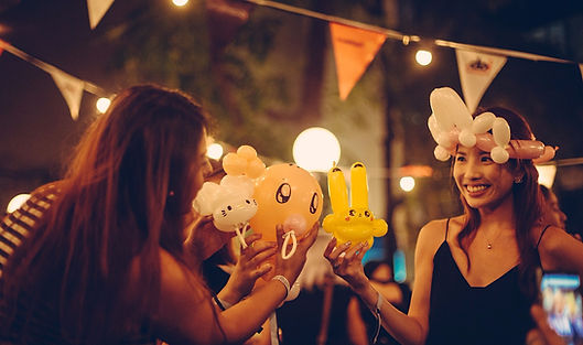 Fun times with Balloon Sculptures Singapore Event and Kids Birthday Party