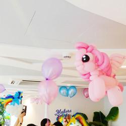 My little pony balloon sculpture