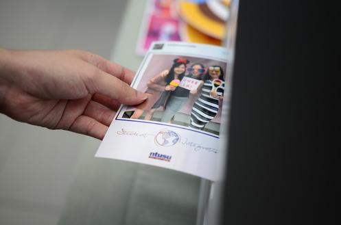 instant print hashtag printer Singapore