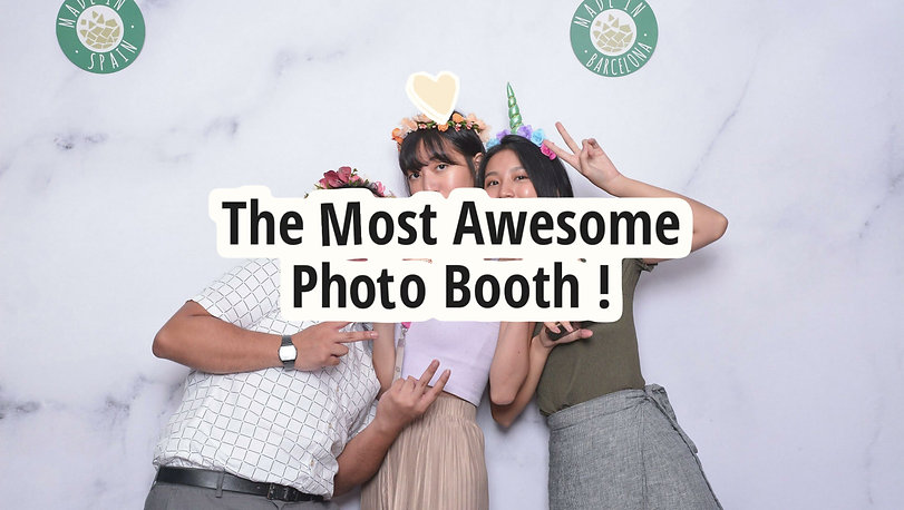 wedding photo booth in singapore