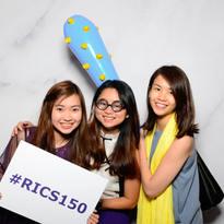 RICS 150 anniversary photo booth
