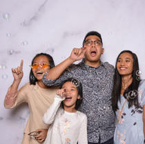 Wedding photo booth Marble backdrop