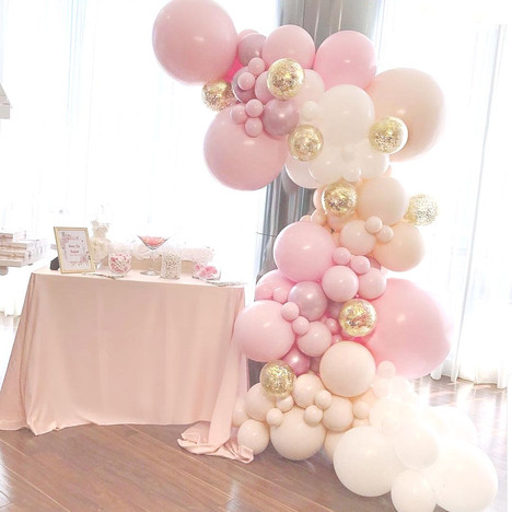 Balloon Arch Deco Styling 21st Birthday