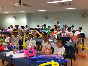 Balloon art workshop Singapore