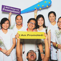 Ng teng fong general hospital promotion party photo booth