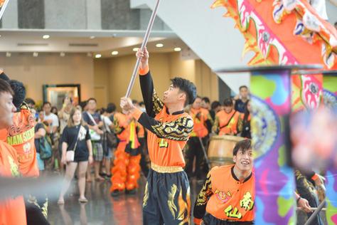 Chinese new year Dragon Dance!