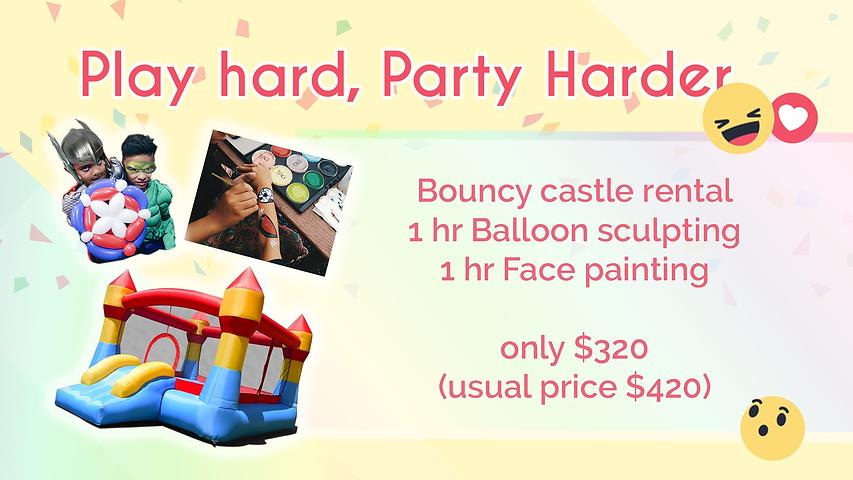 Playhard bouncy castle