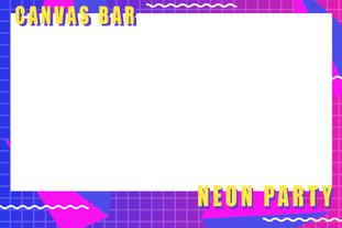 Retro neon theme
