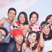 Wedding photo booth fun props