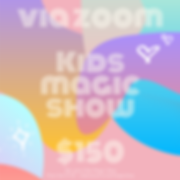 zoom kids magic show