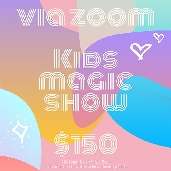 zoom kids magic show