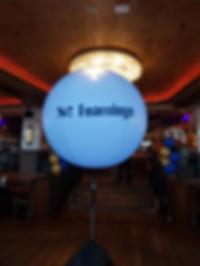 Advertising Balloon Singapore Tripod Lighted