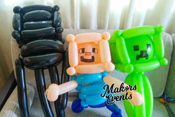 Minecraft Balloon Sculpting