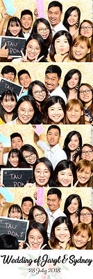 Wedding photo booth at Grand Copthone Waterfront Singapore