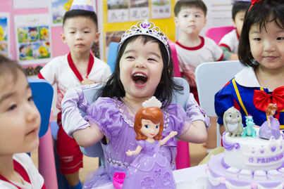 Princess Sofia theme cake.