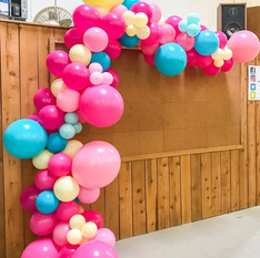 Balloon Arch Deco Styling for Party