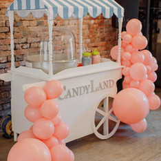 Event cart Balloon Arch Deco Styling