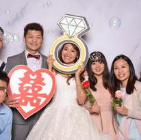 Ben&Michelle Wedding photo booth