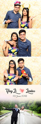 Weddng photo booth at Grand copthorne waterfront hotel singapr