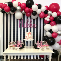 Birthday Singaore Balloon Arch Deco