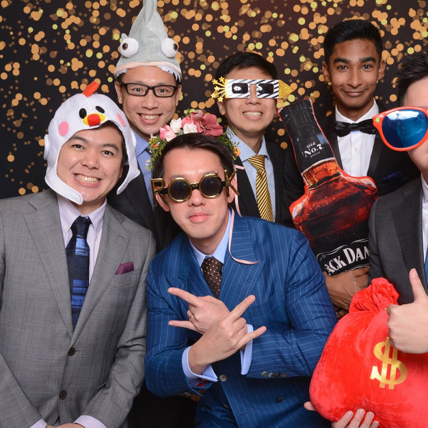 Wedding of Jolin and Felix Photo booth