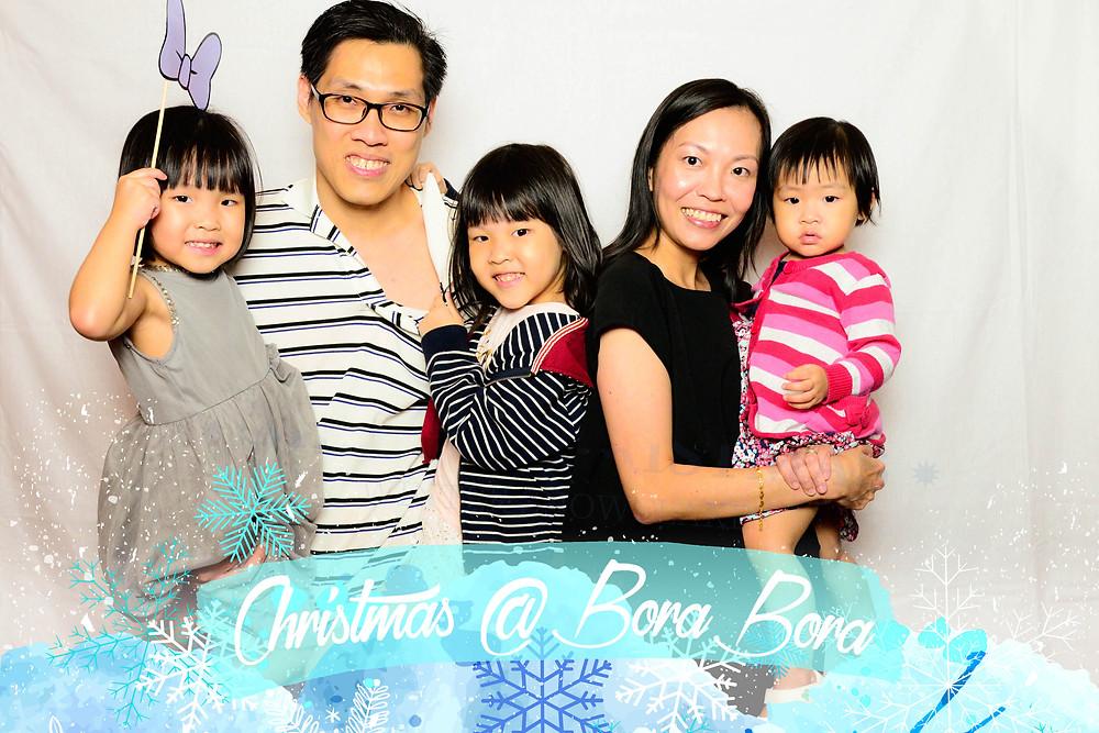 Christmas photo booth singapore