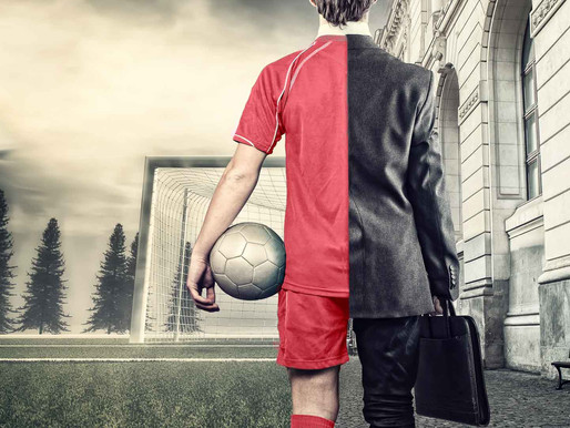 If you are in the business world, then you should learn from the sporting world.