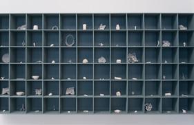 Detalle obra colectiva en Mano de Obra, Sala Gasco