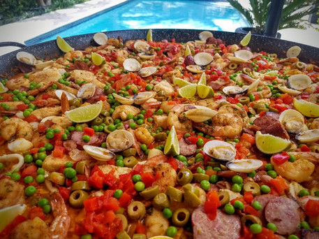 Seafood Paella Caterers