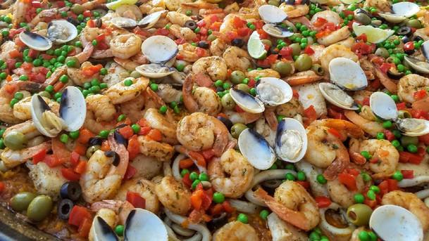 Seafood Paella - Paella de Marisco