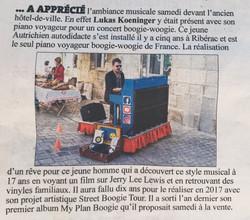Dordogne Libre, 13.07.2020