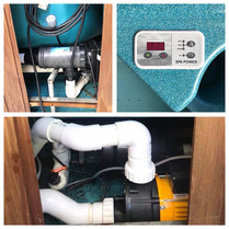 Replacement Spa Control System + Pump
