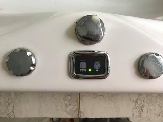New Spa Bath Pump + Touch Pad
