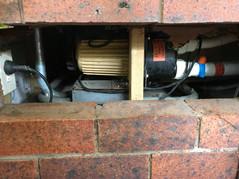 Spa Bath Pump Removal