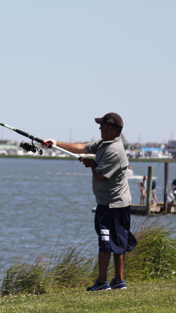Fishing near by