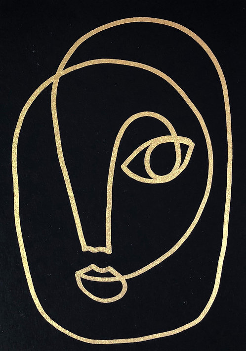Original drawing, 10.5 x 14.8cm