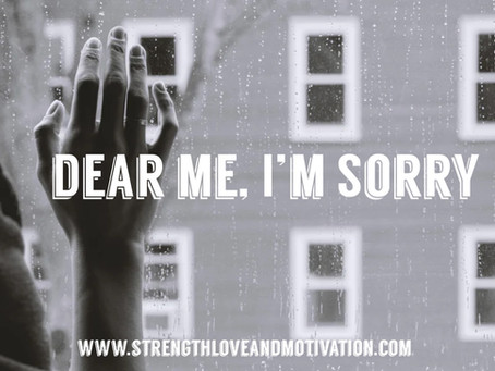 Dear Me, I'm Sorry by Jaylynn Davis